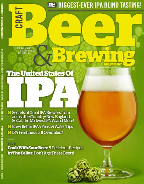 Download Craft Beer & Brewing - March 2016