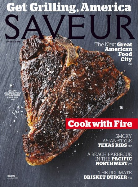 Saveur – July 2015 USA