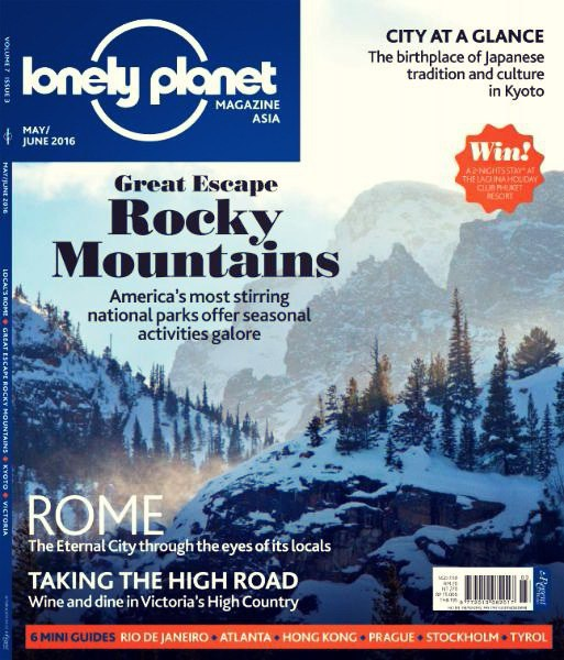 Download Lonely Planet Asia - May-June 2016