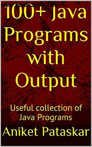 Download 100+ Java Programs with Output Useful collection of Java Programs - Aniket Pataskar