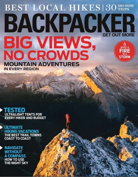 Download Backpacker - September 2016