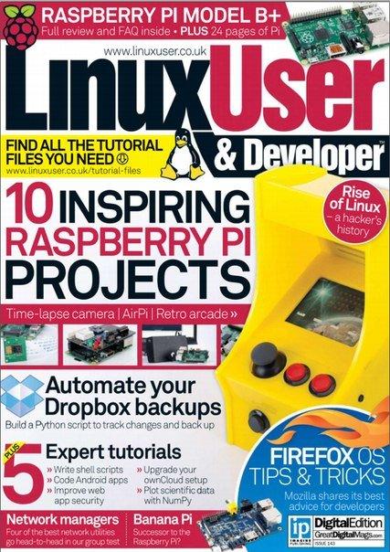 Download Linux User and Developer No 143 2014