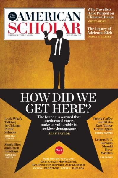 Download The American Scholar - Autumn 2016