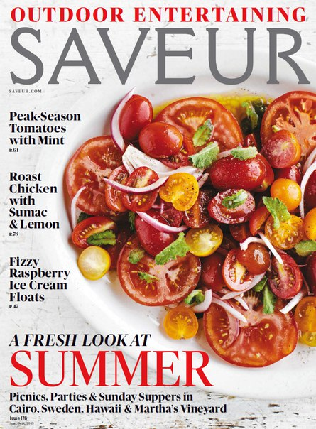 Saveur – September 2015 USA