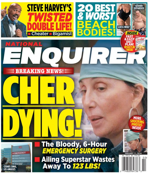 Download National Enquirer - January 11, 2016