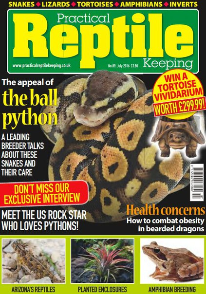 Download Practical Reptile Keeping - July 2016