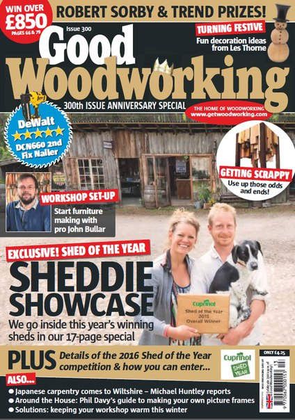 Download Good Woodworking - December 2015