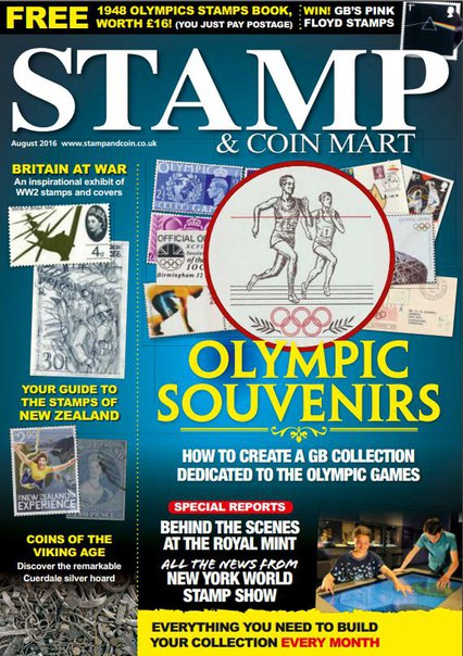 Stamp & Coin Mart – August 2016 UK