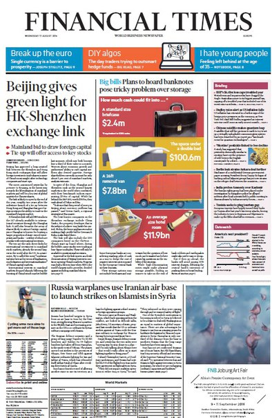 Financial Times Europe August 17 2016