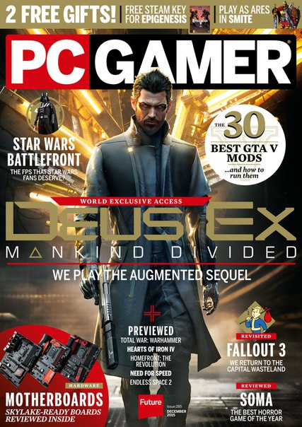 PC Gamer - Holiday 2015 PDF download free