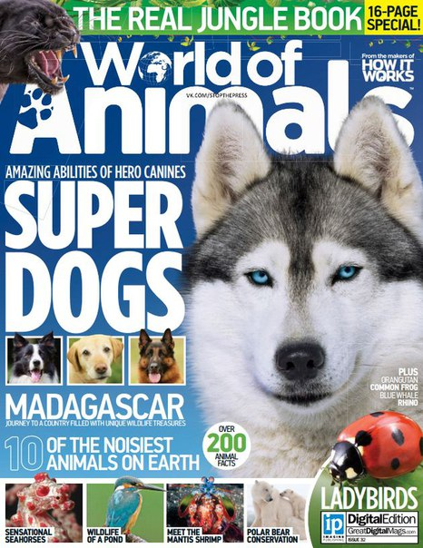 World of Animals – Issue 32 2016
