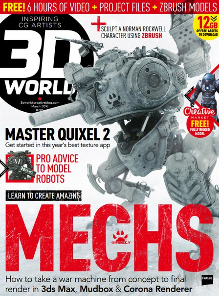 Download 3D World - March 2016