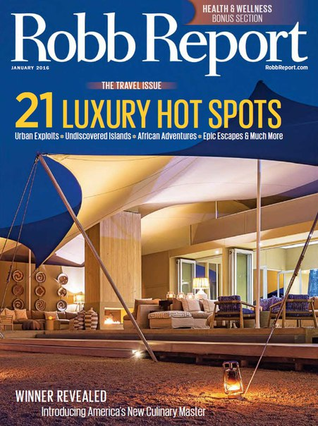 Download Robb Report - January 2016