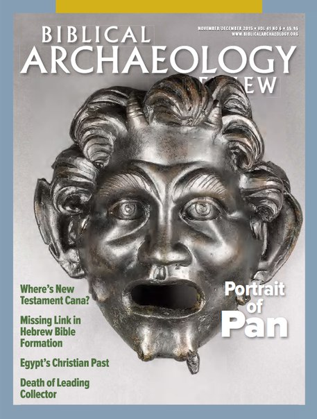 Download Biblical Archaeology Review - December 2015