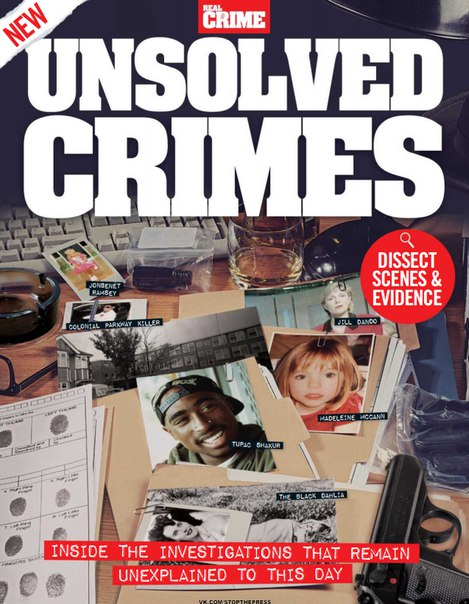 Real Crime Unsolved Crimes – 2016 UK