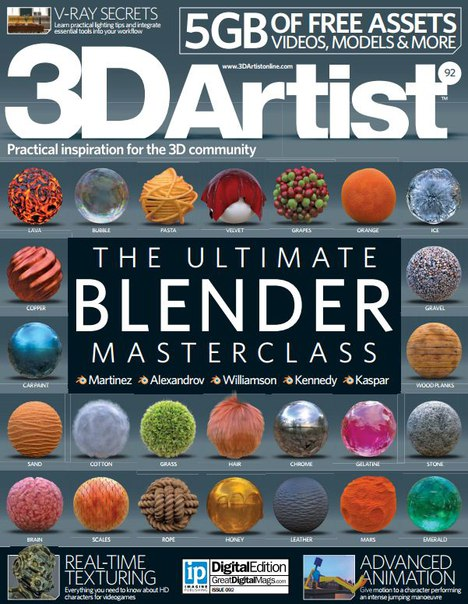Download 3D Artist - Issue 92 2016