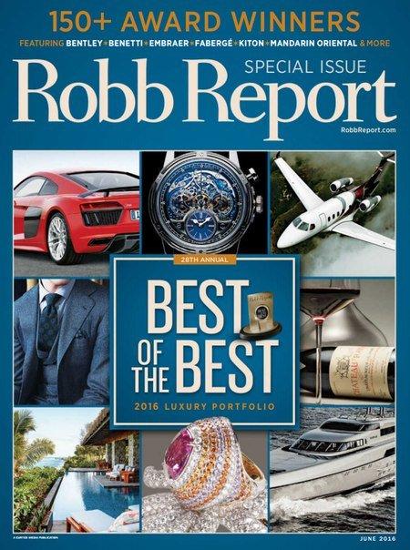 Robb Report – June 2016
