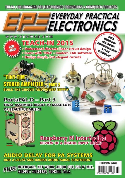 Download Everyday Practical Electronics - February 2015