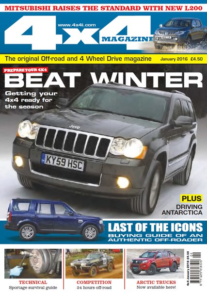 Download 4x4 Magazine - January 2016