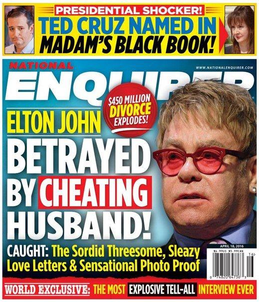 Download National Enquirer - April 18, 2016