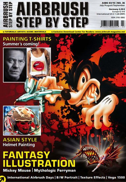 Download Airbrush Step By Step - September 2015 EU vk c