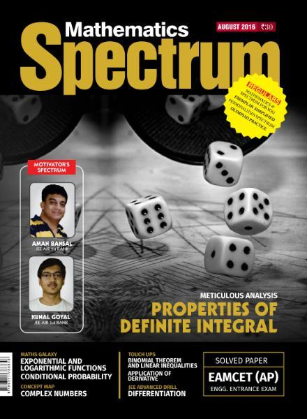 Spectrum Mathematics – August 2016