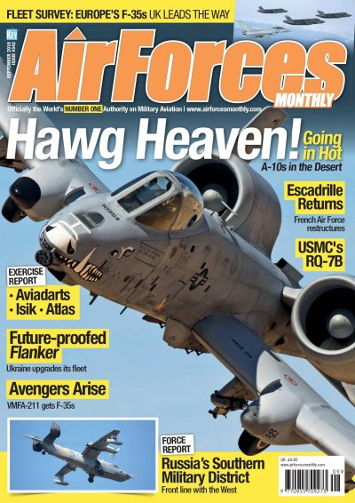 Download AirForces Monthly – September 2016