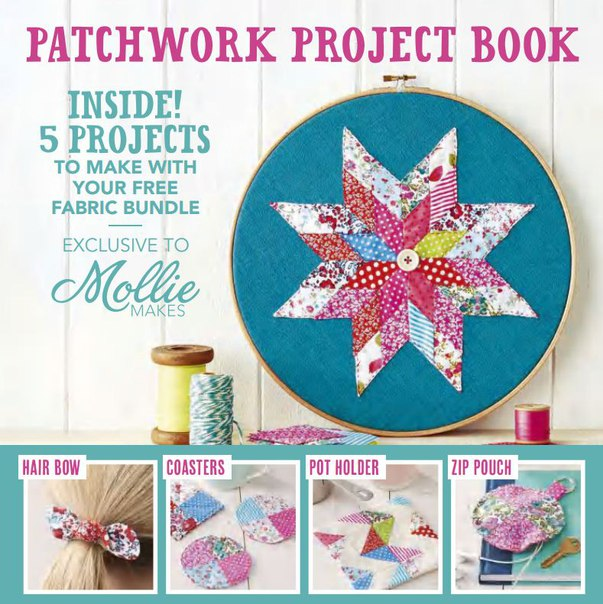 Download Mollie Makes - Patchwork Project Book