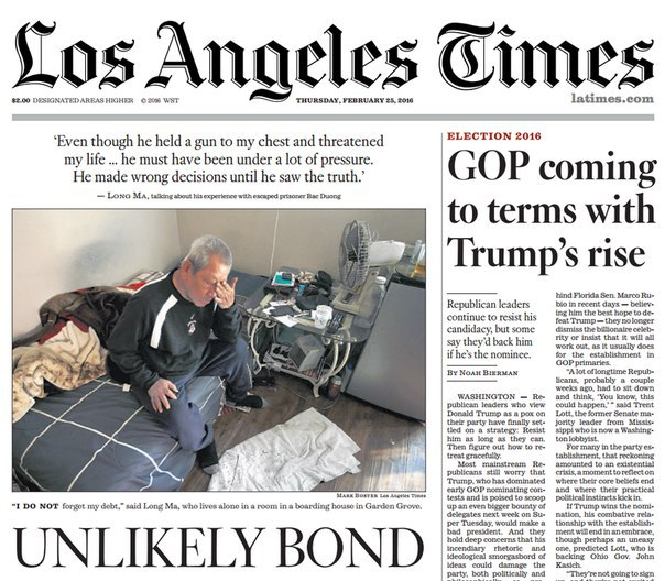 Los Angeles Times: Los Angeles Times February 25- 2016 PDF Download Free