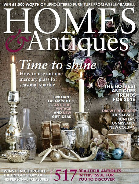 Download Homes & Antiques - January 2016
