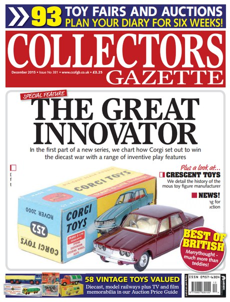 Download Collectors Gazette - December 2015