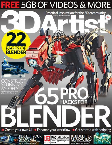 Download 3D Artist - Issue 96 2016