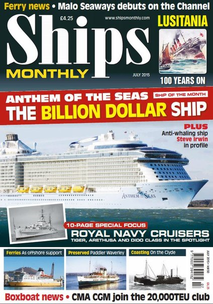 Ships Monthly – July 2015 UK
