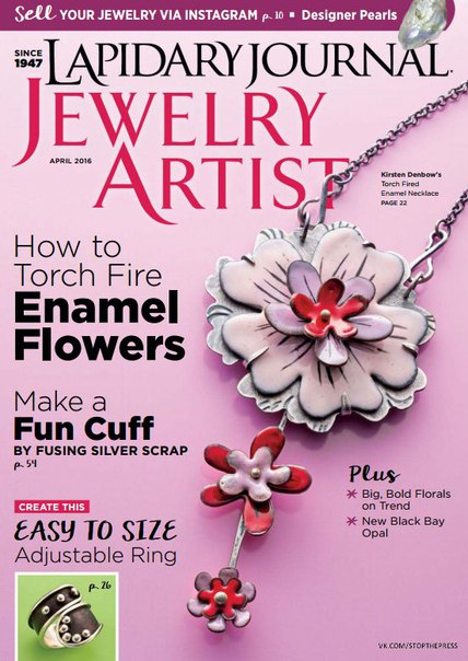Download Lapidary Journal Jewelry Artist - April 2016