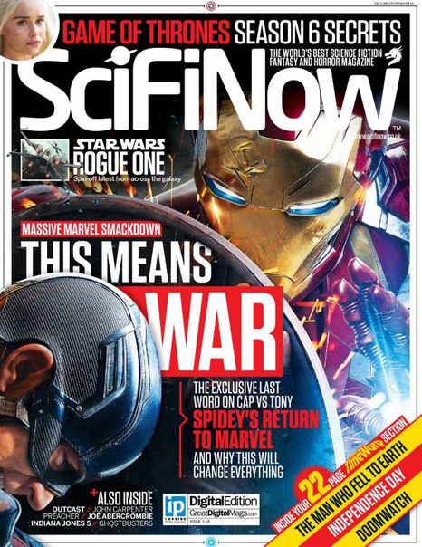 Download SciFiNow - Issue 118, 2016