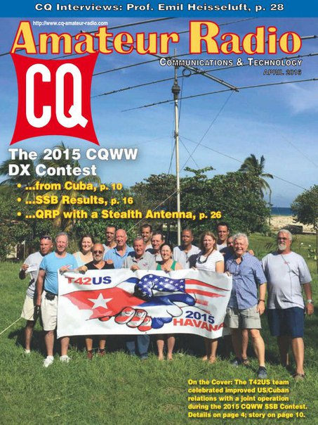 Download CQ Amateur Radio - April 2016