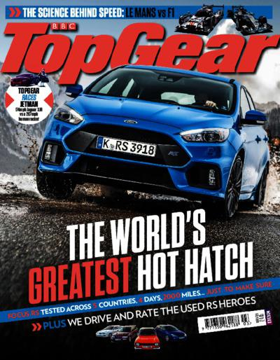 Top Gear UK – March 2016