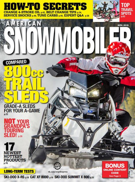 Download American Snowmobiler - November 2015