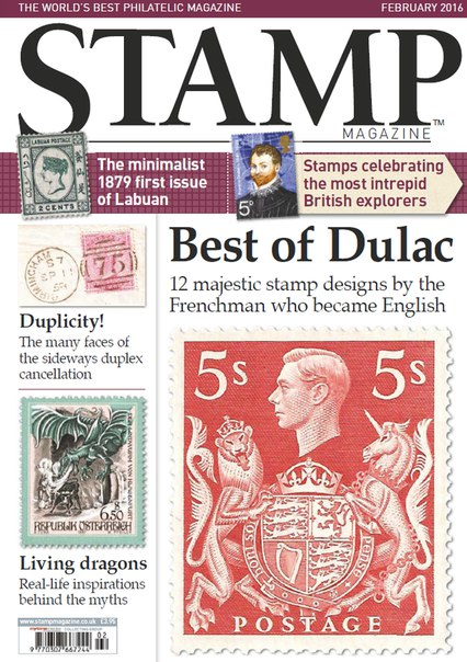 Stamp Magazine – February 2016