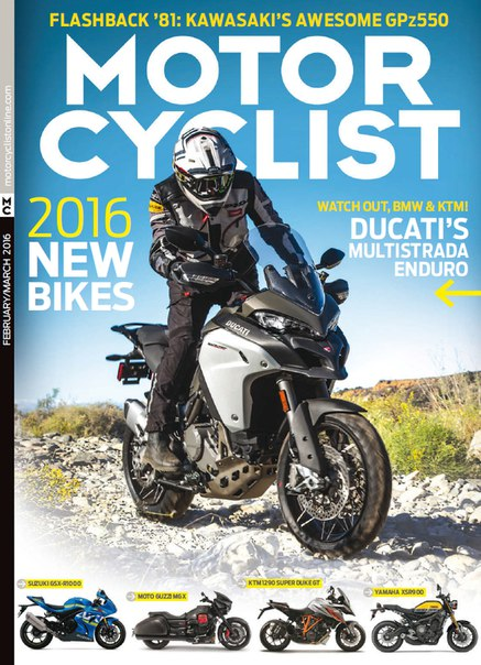 Download Motorcyclist - March 2016