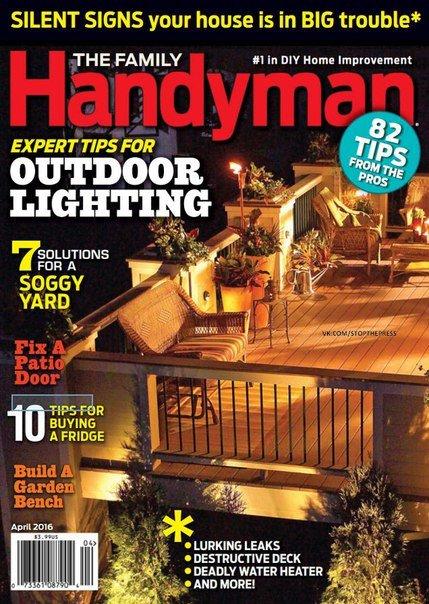 Download The Family Handyman - April 2016