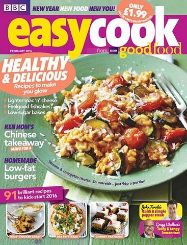 Download Cooking Light – JanuaryFebruary 2016