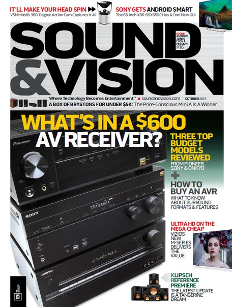 Download Sound & Vision - October 2015