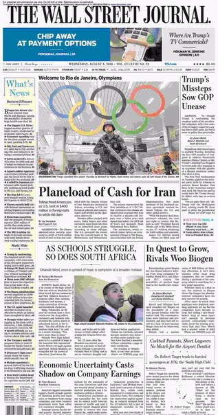 The Wall Street Journal August 03 2016