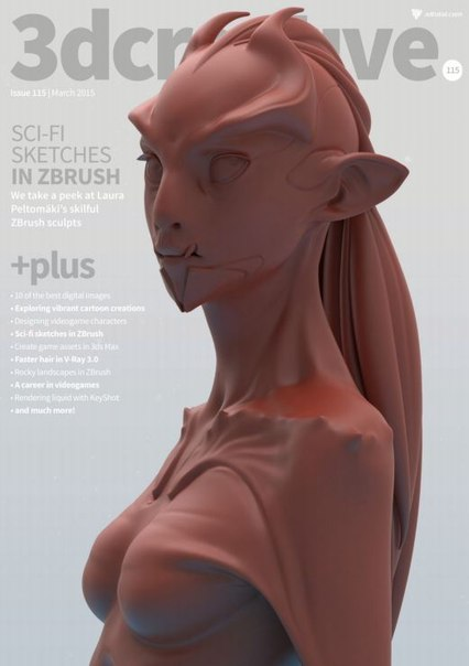 Download 3D Creative - SCI - Fi Sketches in Zbrush (Marc