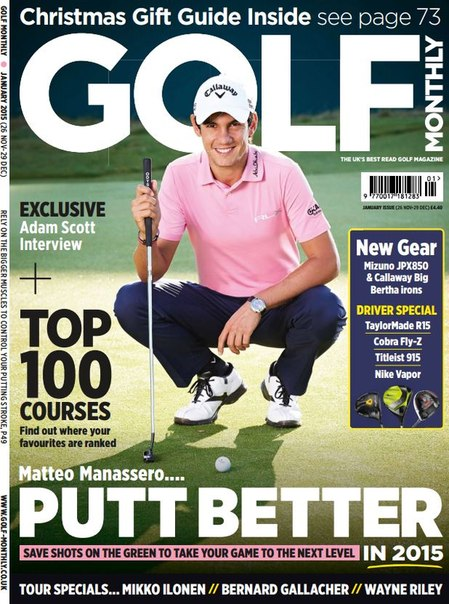 Download Golf Monthly - January 2015 UK