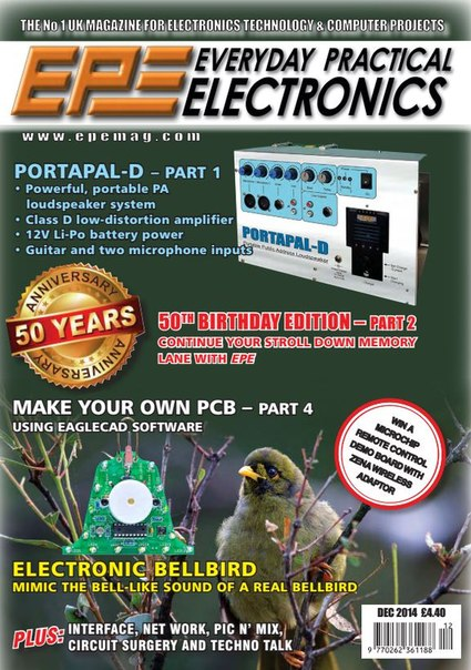 Download Everyday Practical Electronics - December 2014