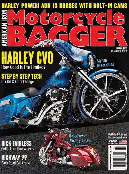 Download Motorcycle Bagger - March 2015