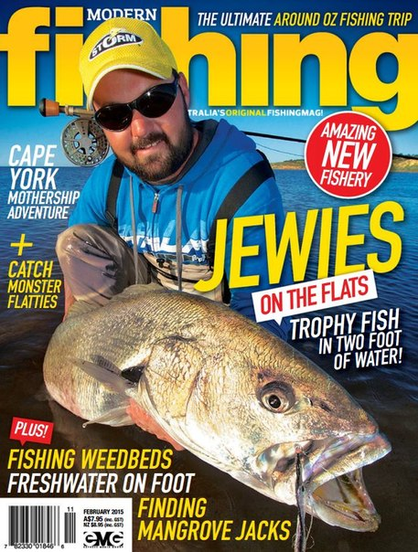 Modern fishing february 2015 au pdf download free for Free fishing magazines