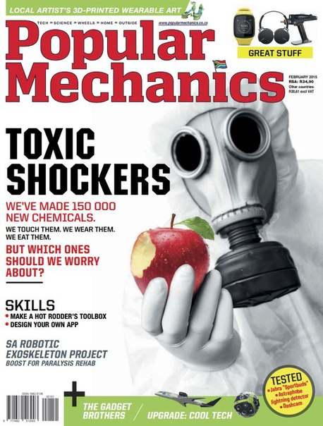 Download Popular Mechanics - February 2015 ZA